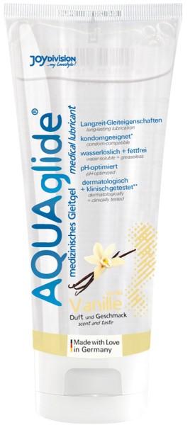 AQUAglide Vanille-Gleitmittel - 100 ml