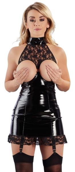 Lack-Strapskleid