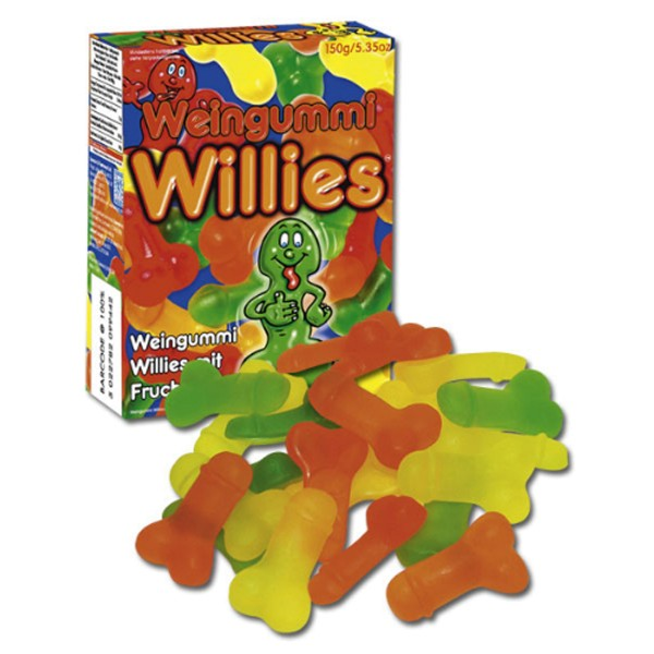 Jelly Willies Fruchtgummies in Penisform 150 g