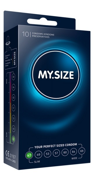 MY.SIZE 47 mm 10er